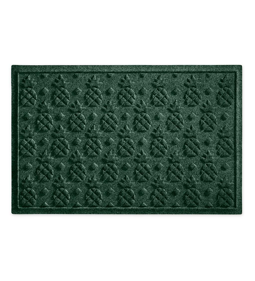 Waterhog Pineapple Doormat, 3' x 5' - Green