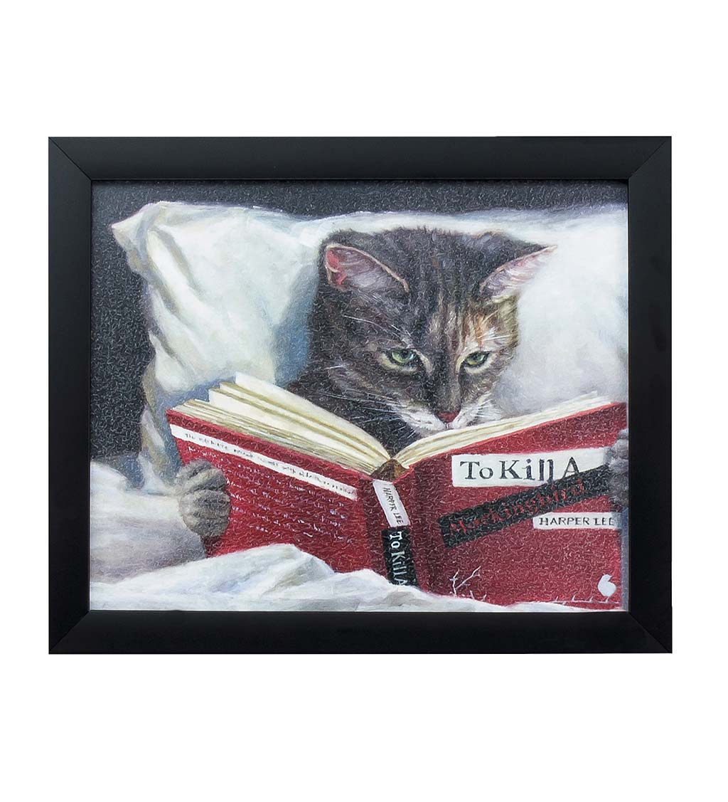 To Kill a Mockingbird Cat Wall Art