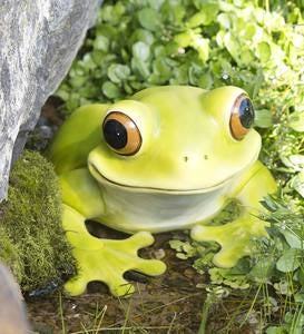 Peeping Frog Sculpture