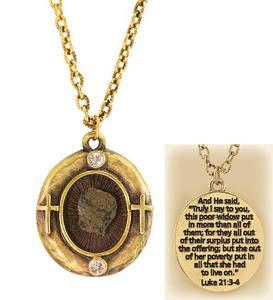 Widow's Mite Coin Necklace