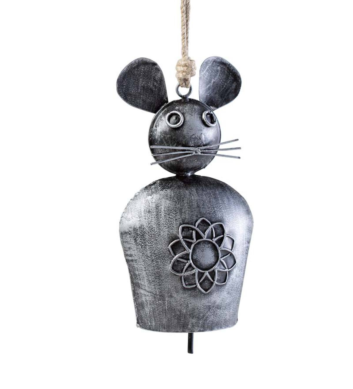 Outdoor Metal Mouse Bell