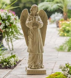 Tall Praying Angel Statue