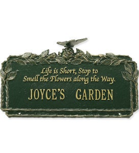 Rose Poem Plaque
