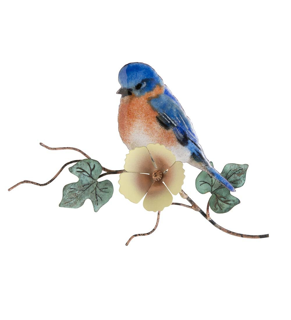 Bovano Glass-Enameled Songbird