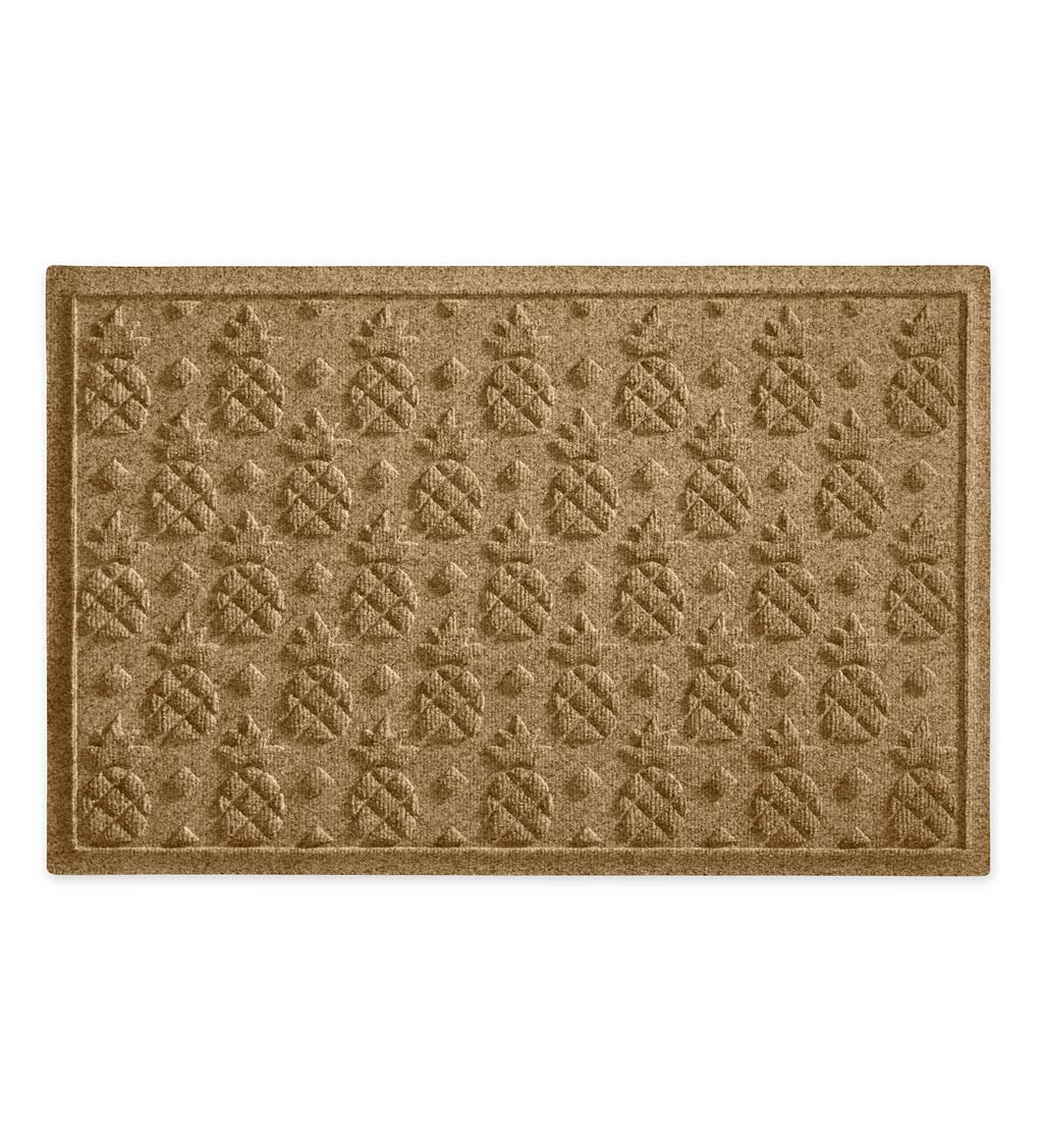 Waterhog Pineapple Doormat, 3' x 5' - Camel