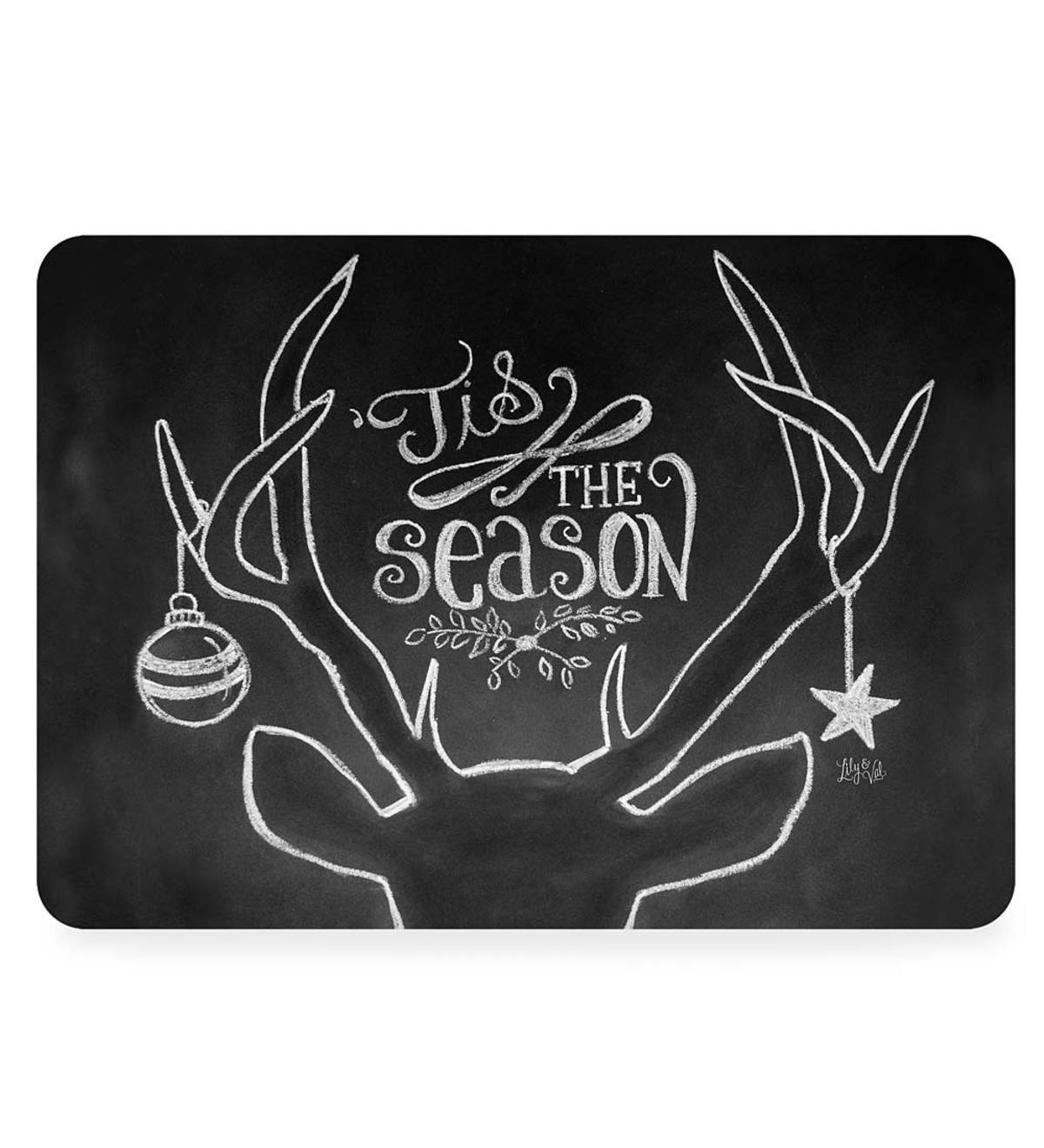 'Tis the Season by Lily&Val Doormat