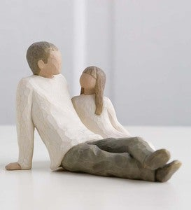 Father and Daughter Willow Tree® Figurine