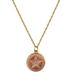 Starfish Coin Necklace
