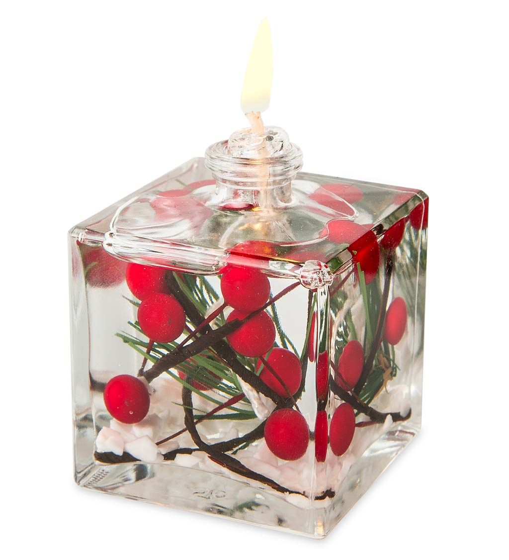 Berries Cube Oil Candle