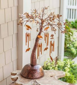 Metal Wind Chime Tree