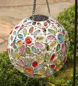 Solar Jewel Ball - Clear