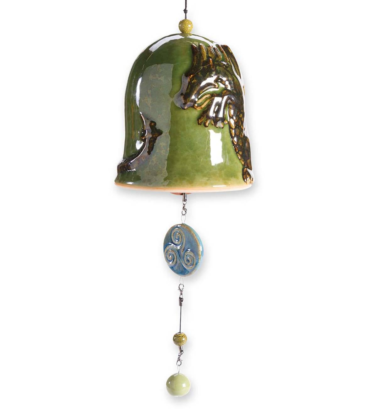 Dragon Whispering Bell - Free 2 Day Delivery - Green