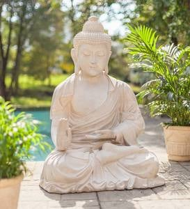 Large Seated Buddha Indoor/Outdoor Statue