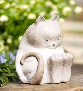 Ceramic Sleeping Cat