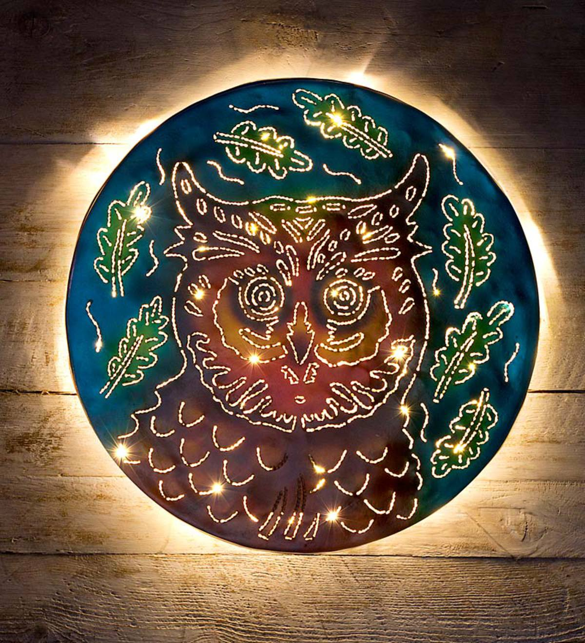 metal turtle wall decor.htm handcrafted lighted owl metal wall art wind and weather  handcrafted lighted owl metal wall art
