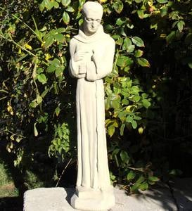 Cast Stone St. Anthony Statue