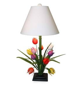 Lamps and lighting home accessories for the home wind and weather multi color metal tulip table lamp keyboard keysfo Gallery