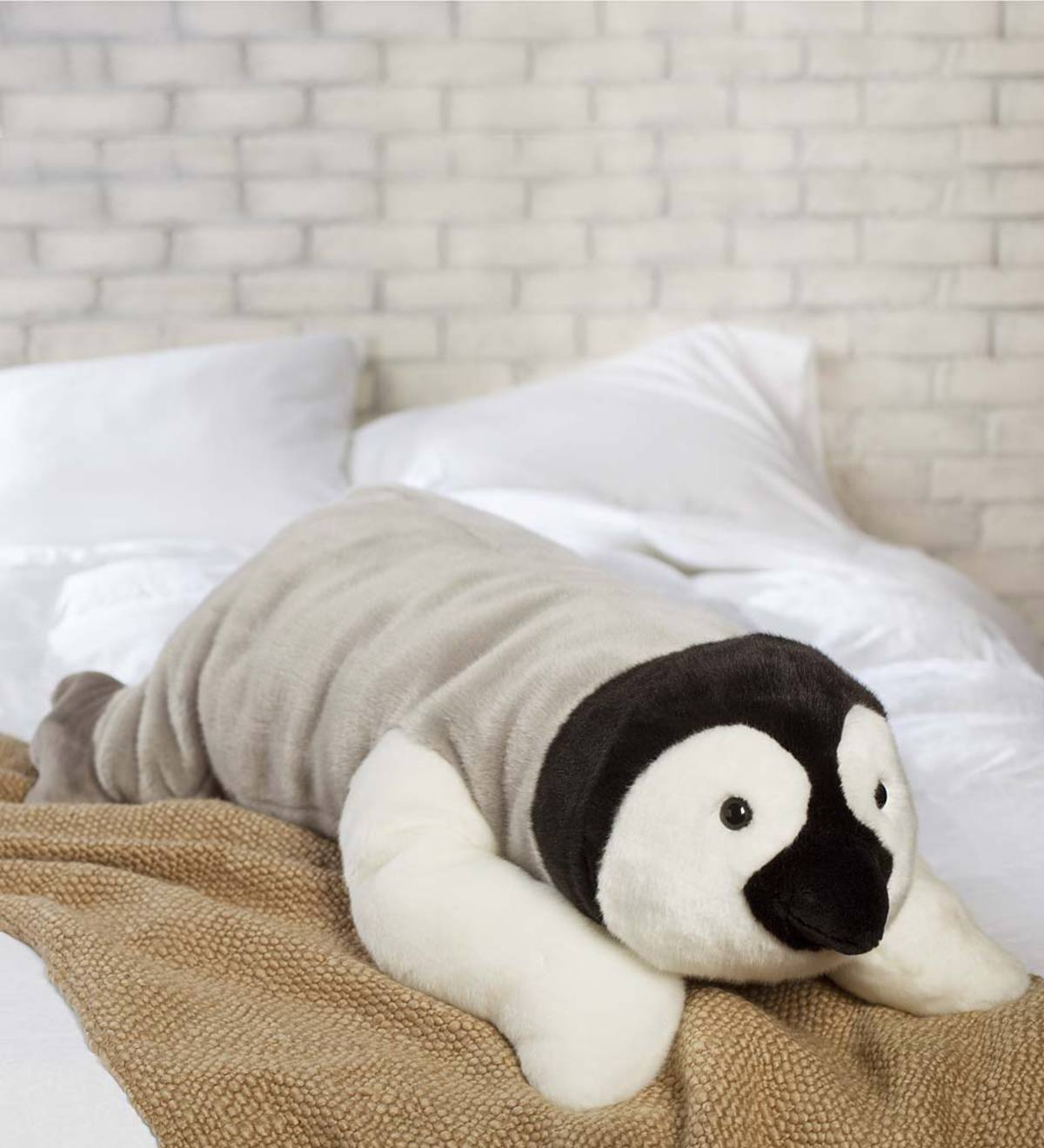 Penguin Body Pillow Wind And Weather
