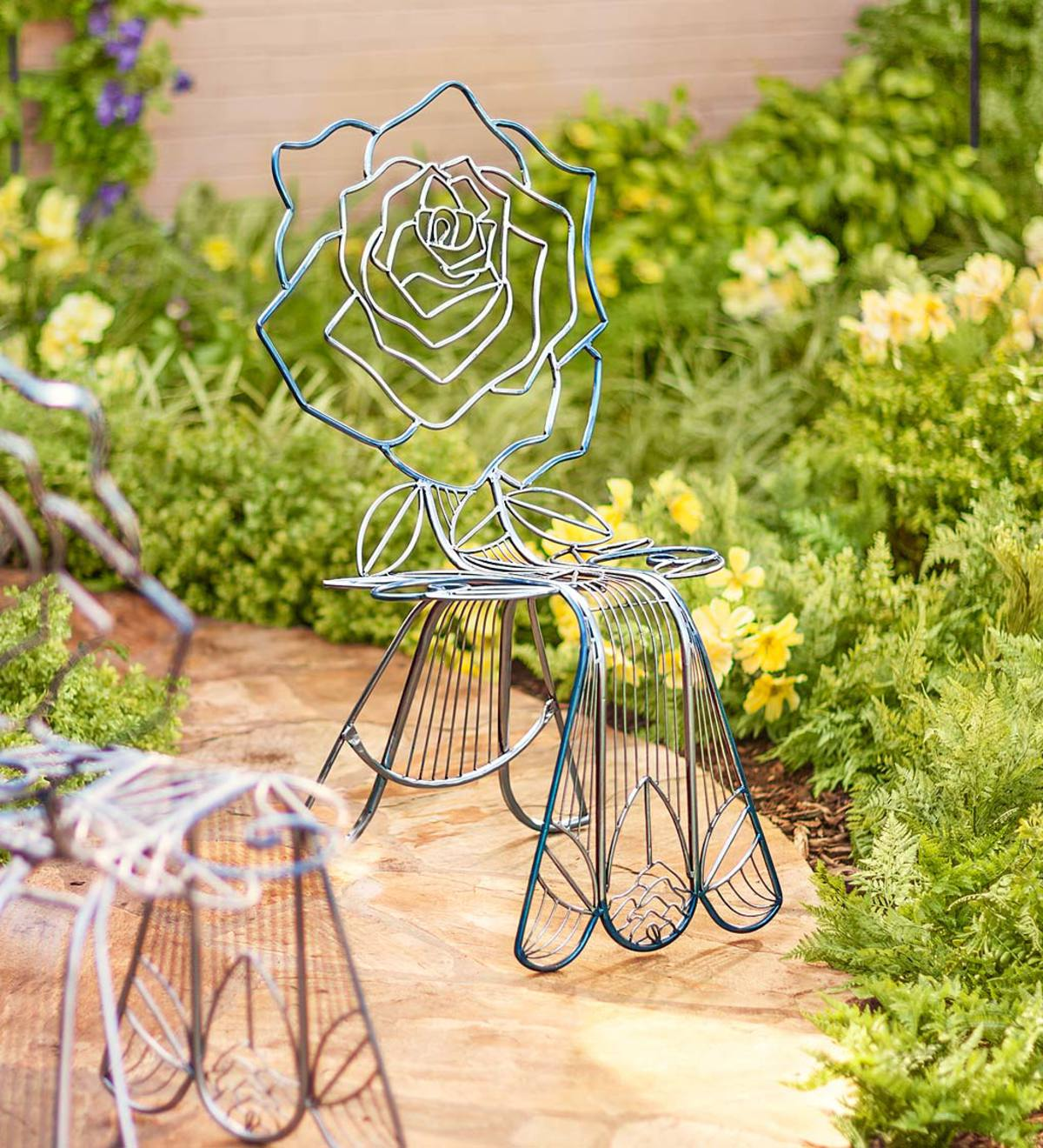 Metal Rose Chair