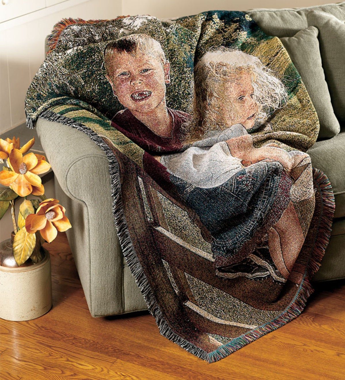 Personalized Photo Throw