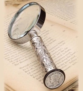 Mercury Dime Magnifying Glass