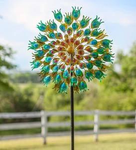 Wind Spinners Garden Deacutecor By Type Garden Art Wind And