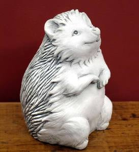 Hazel Hedgehog Stone Sculpture by Carruth Studio
