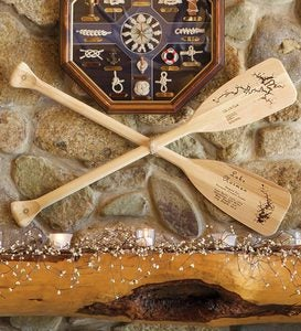 Personalized Aspenwood Boat Paddle