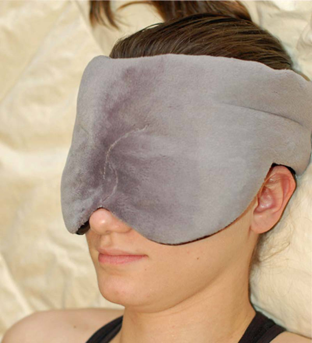Polyester Microplush Herbal Comfort Sinus Mask - Slate Blue