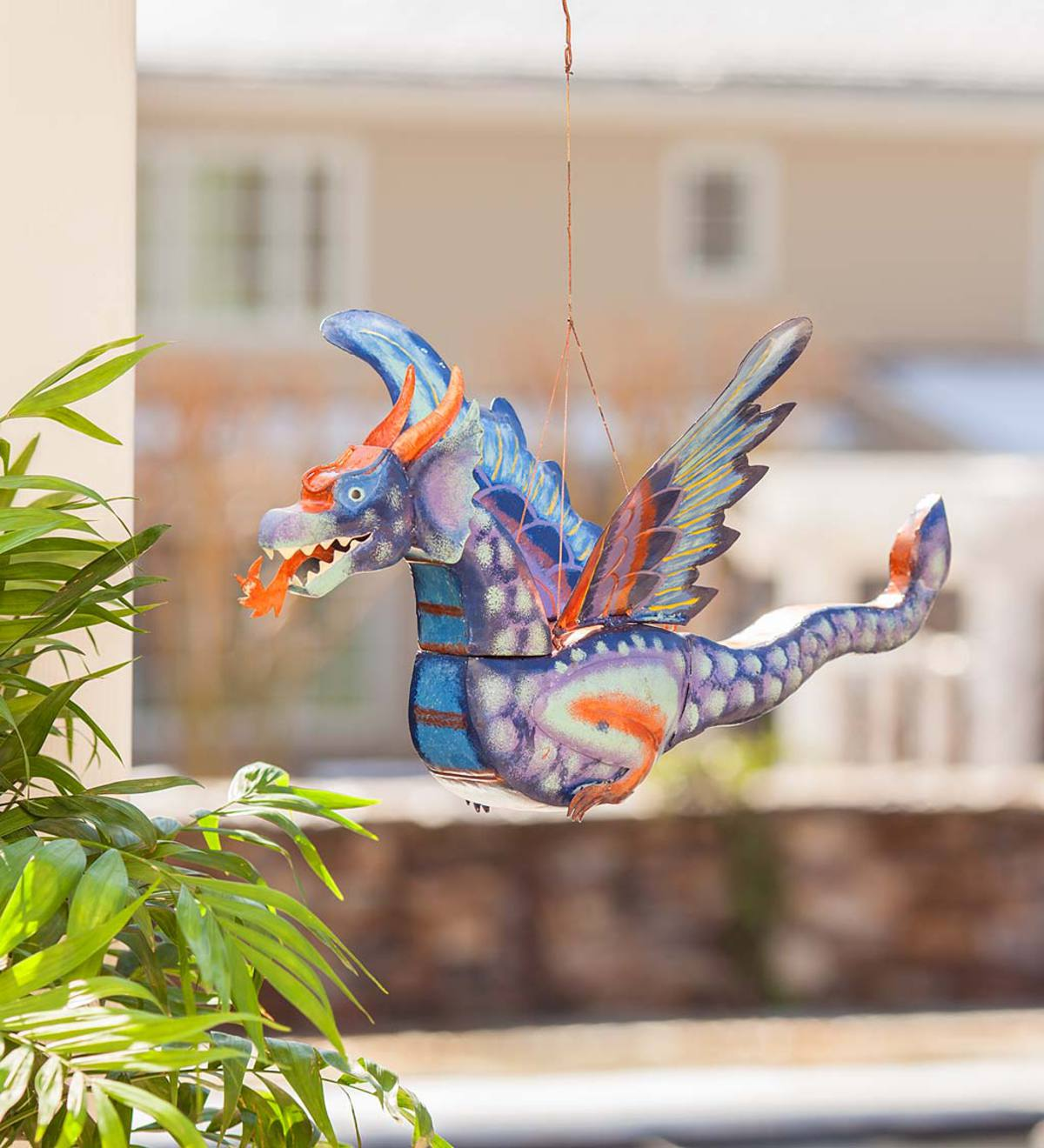 Hanging Metal Flying Dragon
