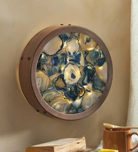 Agate Lighted Wall Art