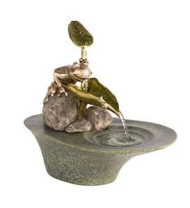 Frog Tabletop Fountain