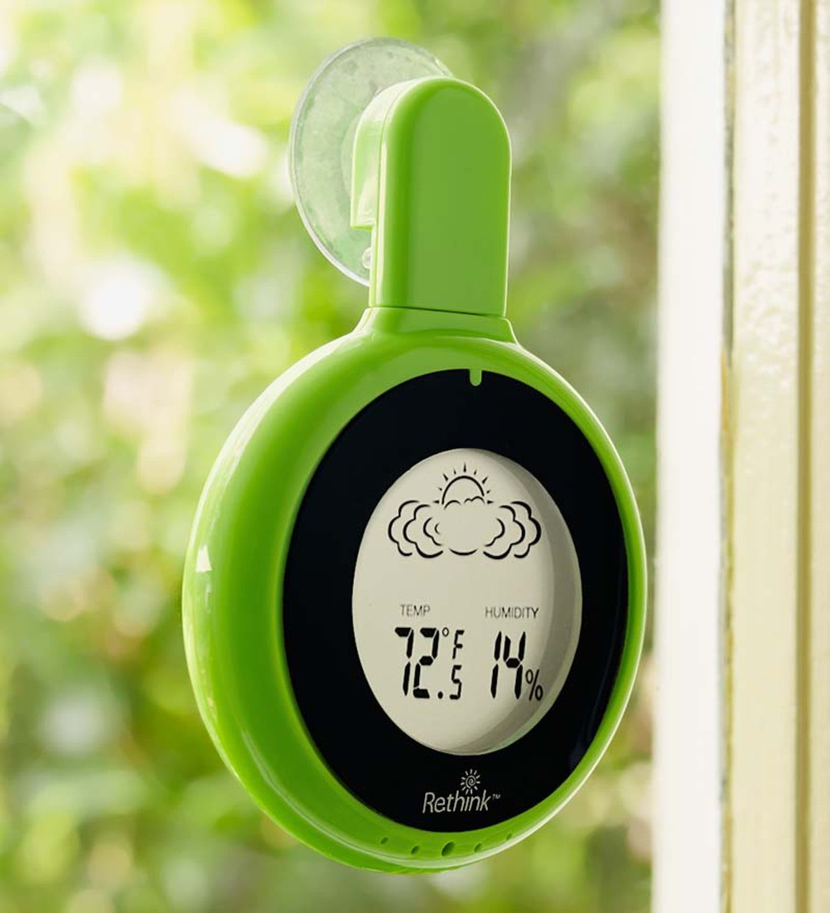 Solar Window Weather Station - Green