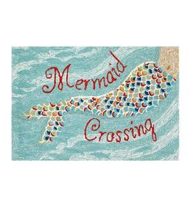 Mermaid Crossing Accent Rug
