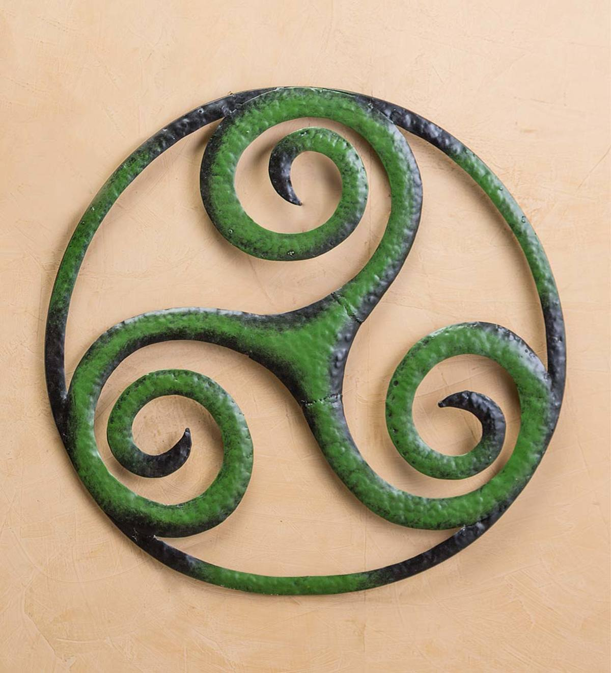 Celtic Triskele Metal Wall Art