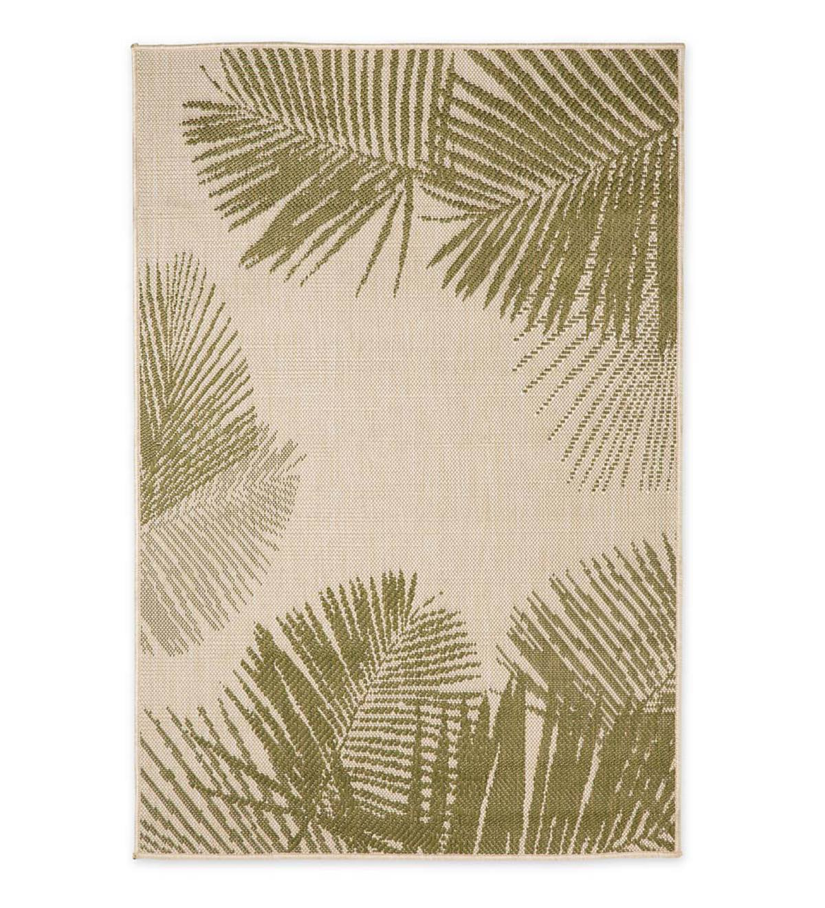 Palm Indoor/Outdoor Rug - Green
