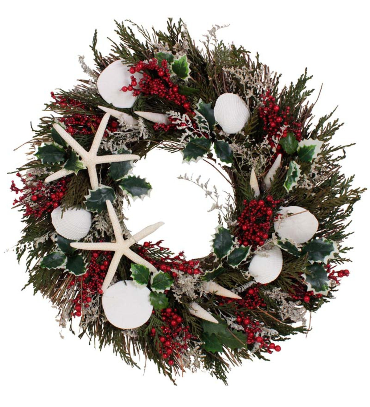 Nautical Christmas Wreath.Nantucket Nautical Holiday Indoor Wreath Wind And Weather
