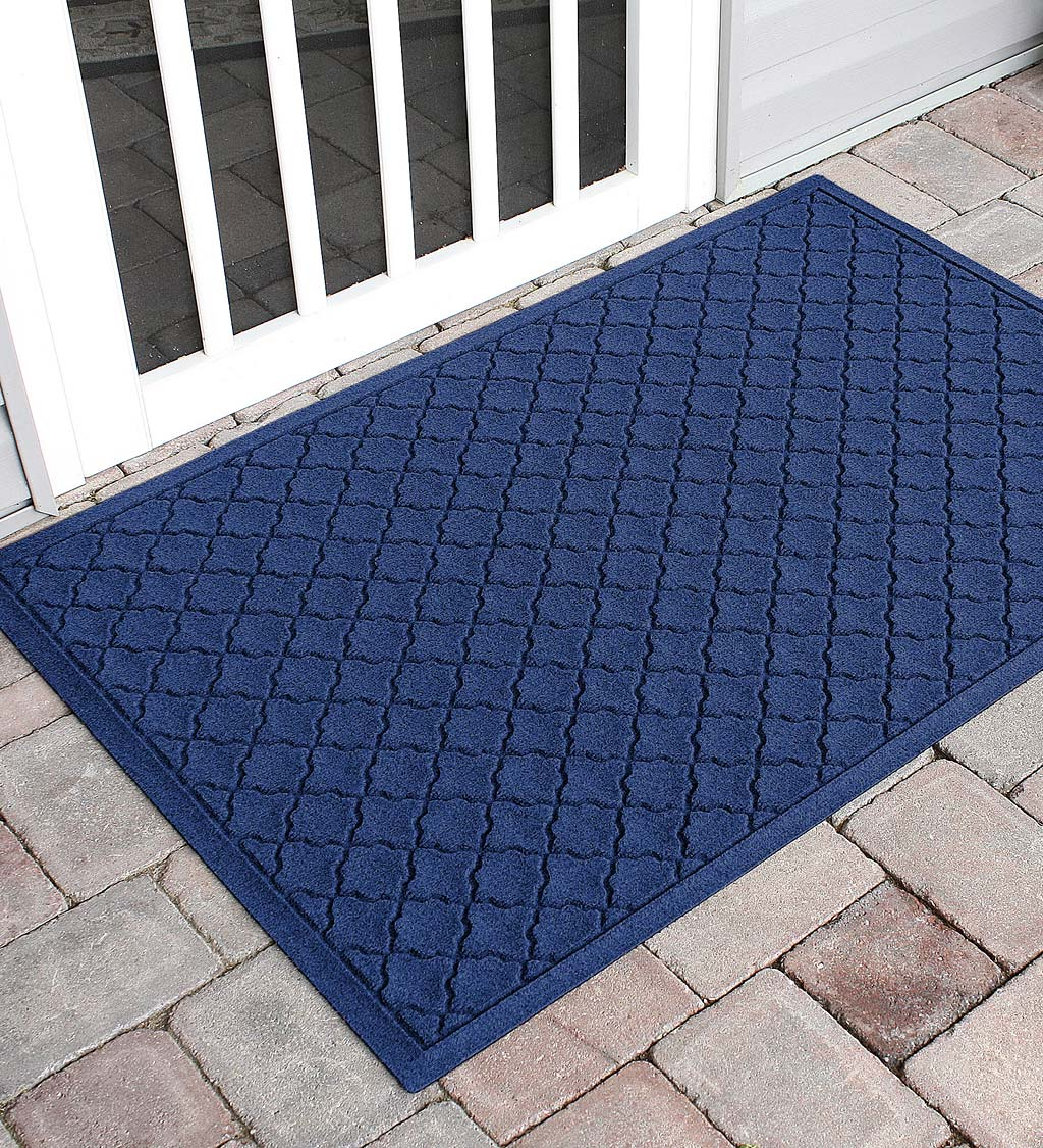 Waterhog Indoor/Outdoor Geometric Doormat, 3' x 5'