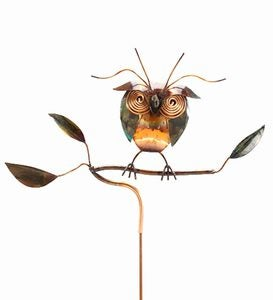 Night Owl Copper Garden Stake