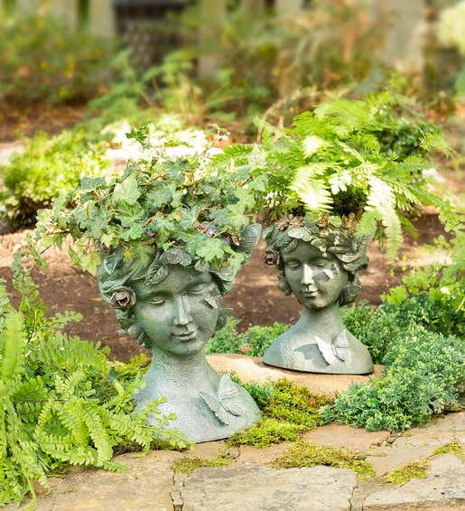 Butterfly Queen Planters. Planters & Plants