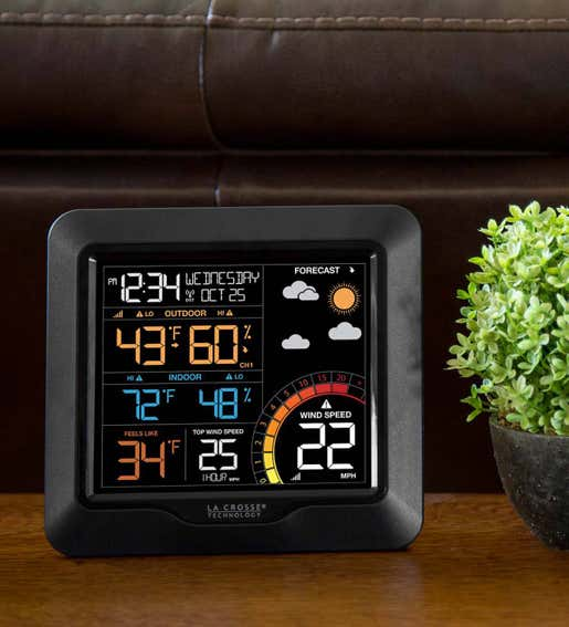 Color Wind Speed Weather Station. Weather Instruments