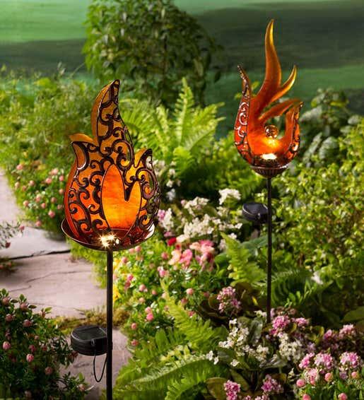 Solar Garden Accents